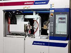 micro molding machine